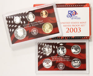 2003-S Silver Mint Proof Set