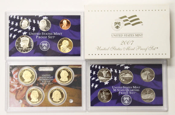 2007-S Mint Proof Set