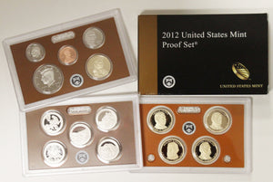 2012-S Mint Proof Set