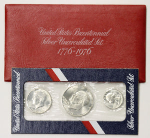 1976 3Pc Silver Mint Set
