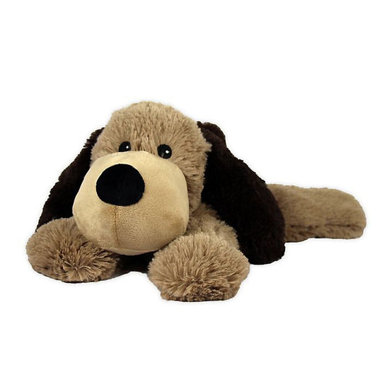 Brown Dog Heatable Plushie
