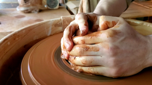 Handmade pottery, Wheel throwing, made by Abraham McBride on Vashon Island Washington 2020, near Seattle. Small business, Made in the USA.