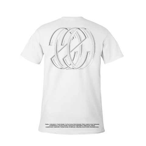 NCT 'Resonance' White Short Sleeve T-Shirt