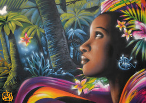 puzzle martinique streeart graffiti xän creole NPL