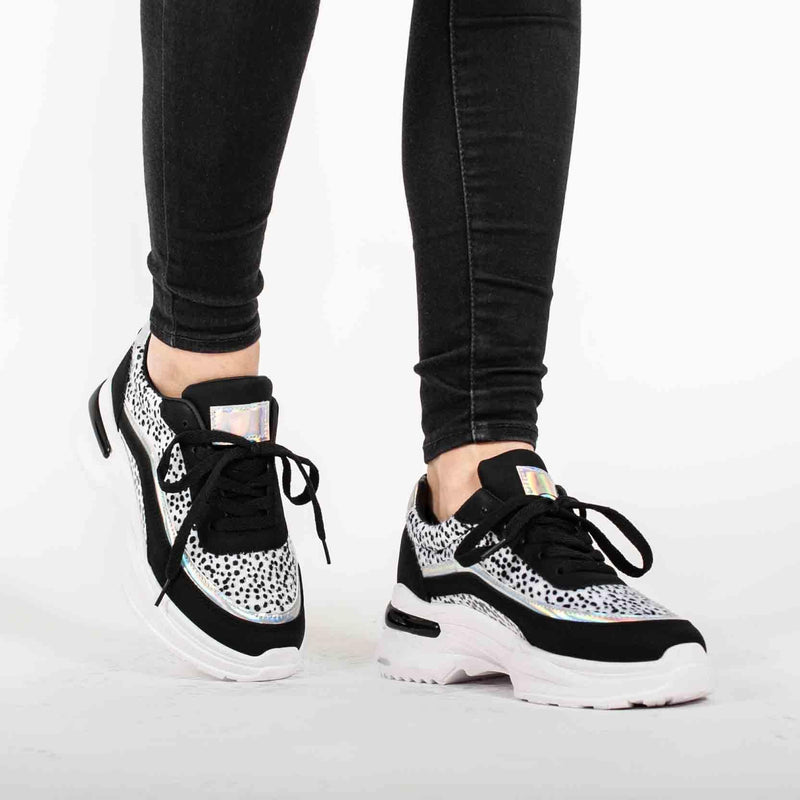 Sneaker Noor zwart - Makefashion -