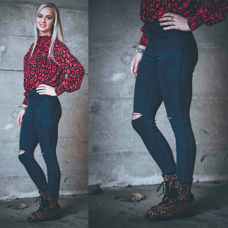 Jegging Toxik - Makefashion -