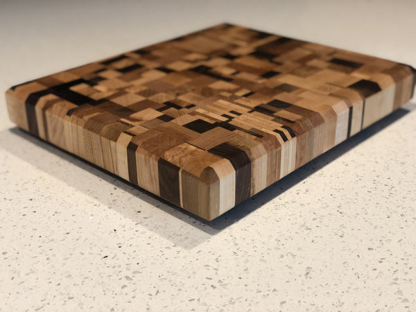 Frankenscrap Chaos End Grain Cutting Board