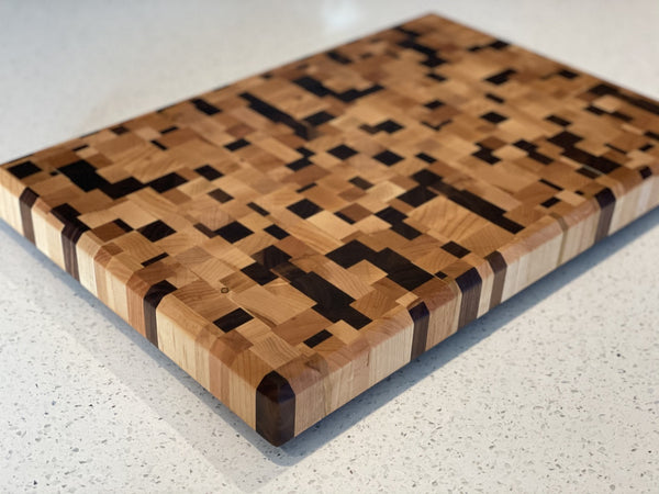 Chaos End Grain Cutting Board