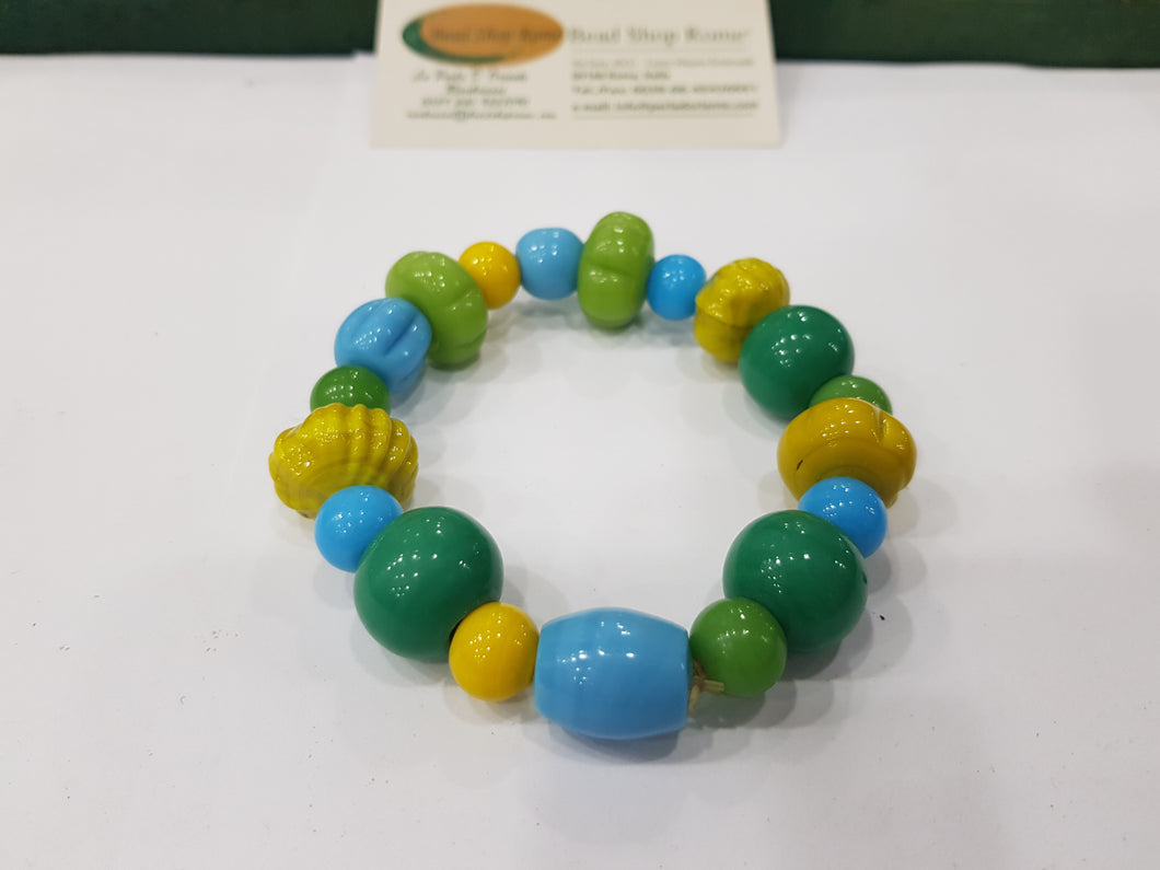 Yellow Green Turquoise Bracelet