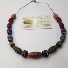 Load image into Gallery viewer, Phoenician satin Beads style Necklace