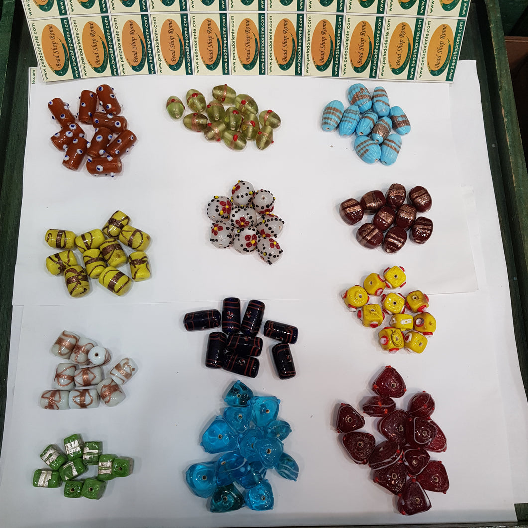 Mix multi color Beads