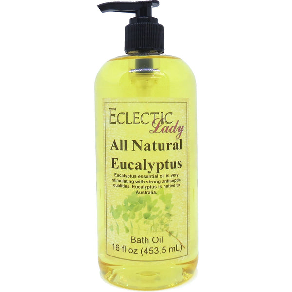 Eucalyptus Essential Oil Bath Oil