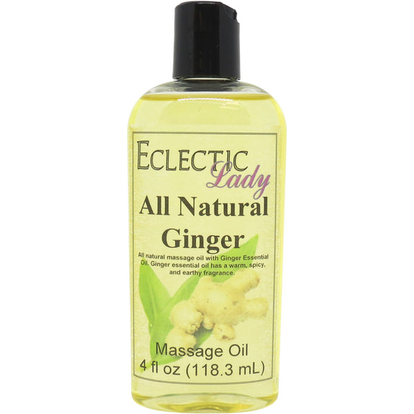 Ginger Essential Oil Massage Oil
