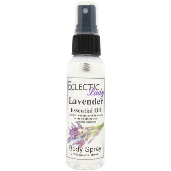 Lavender Essential Oil Body Spray
