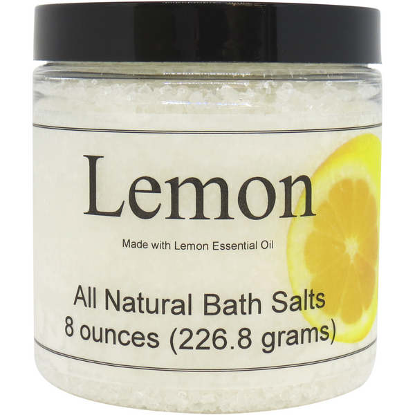 Lemon Essential Oil Bath Salts