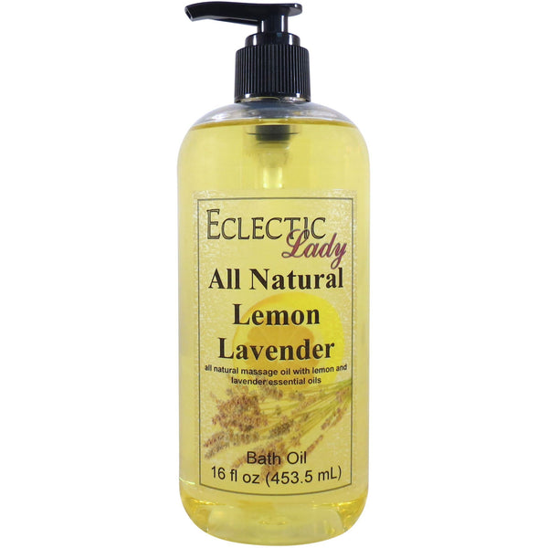 Lemon Lavender Essential Oil Blend Bath Oil