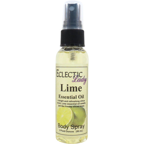 Lime Essential Oil Body Spray