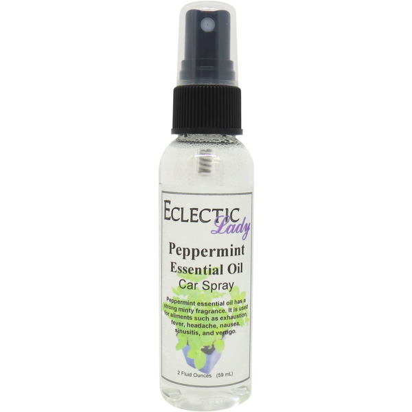 Peppermint Essential Oil Car Spray