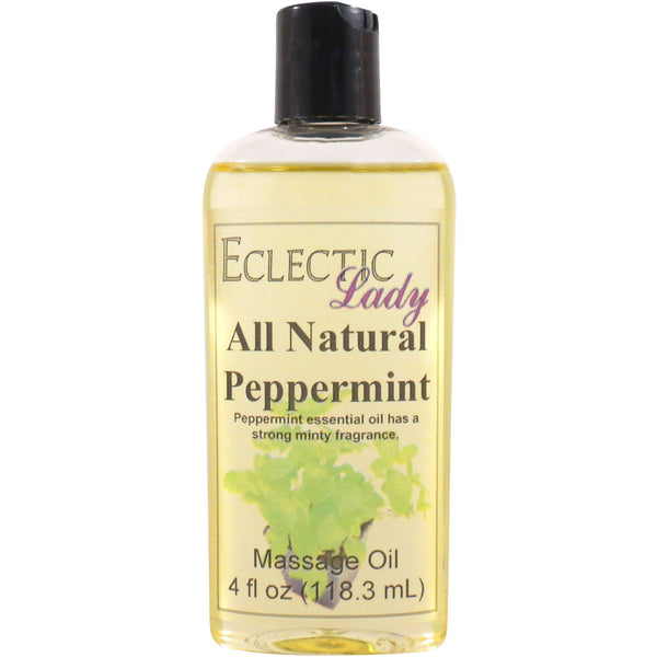 Peppermint Essential Oil Massage Oil