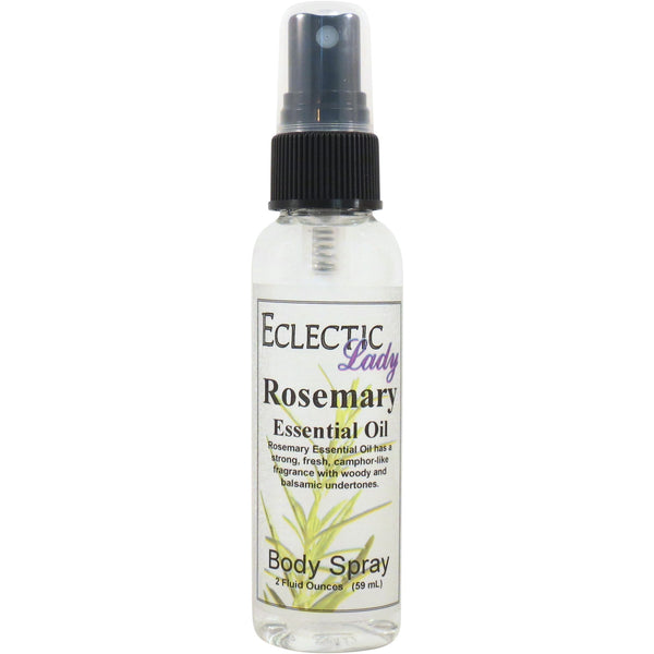 Rosemary Essential Oil Body Spray