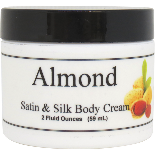 Almond Satin and Silk Cream