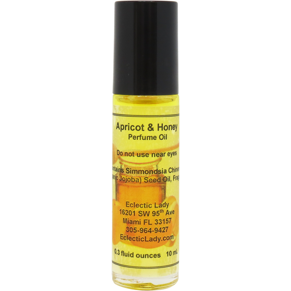Apricot and Honey Perfume Oil