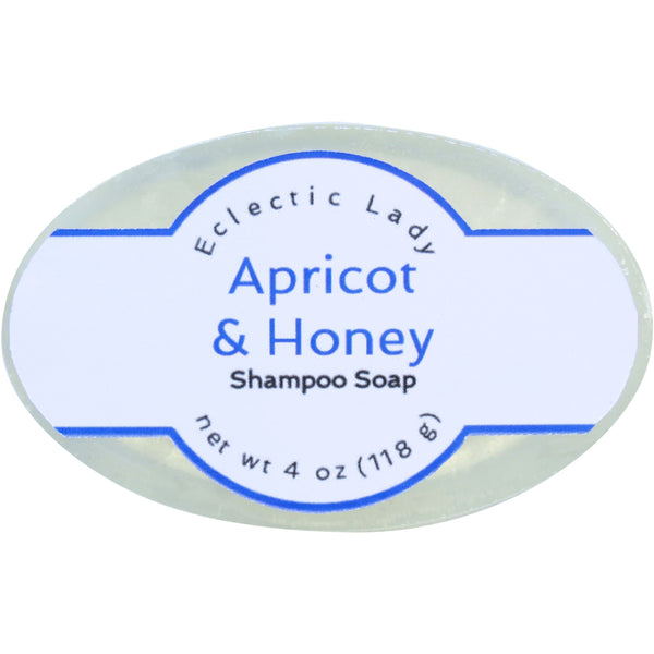 Apricot and Honey Handmade Shampoo Soap