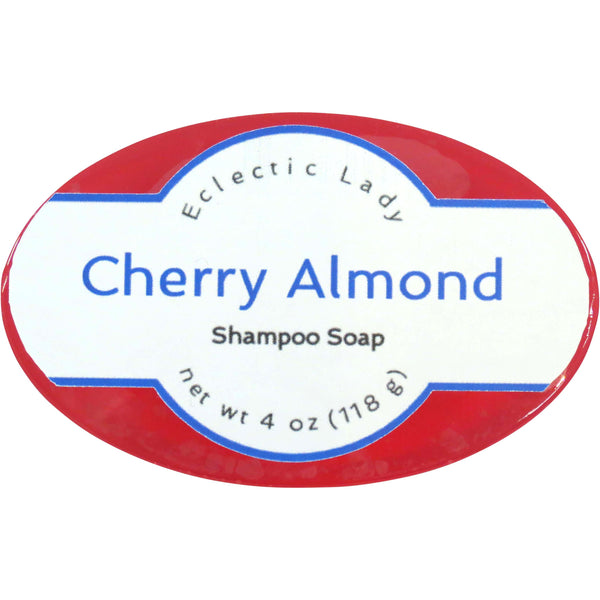 Cherry Almond Handmade Shampoo Soap