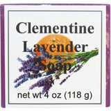 Clementine Lavender Handmade Glycerin Soap
