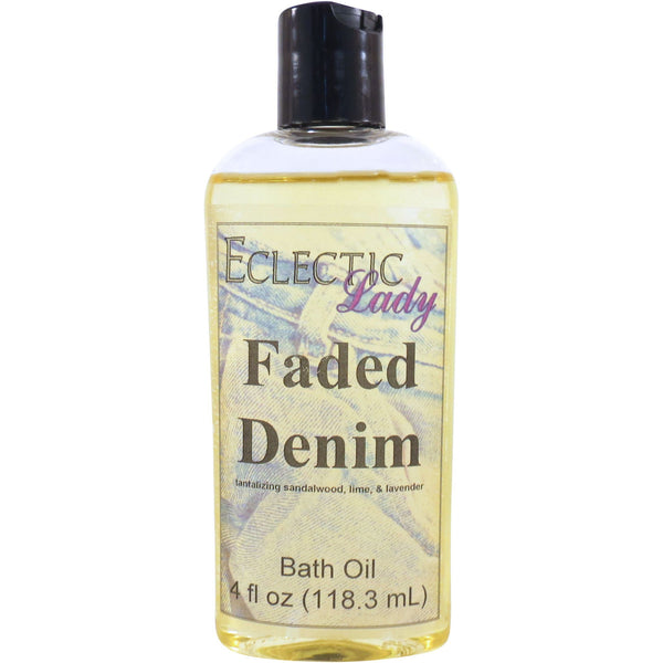Faded Denim Bath Oil