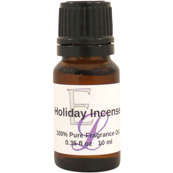 Holiday Incense Fragrance Oil, 10 ml