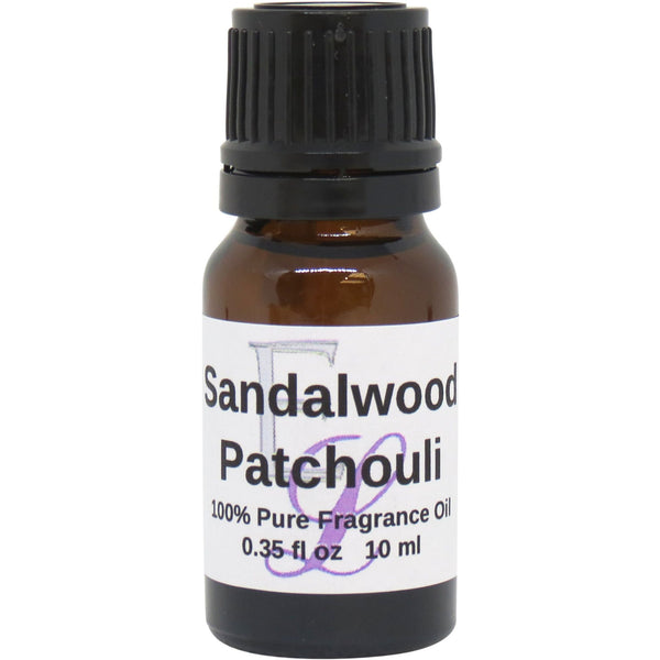 Sandalwood Patchouli Fragrance Oil, 10 ml
