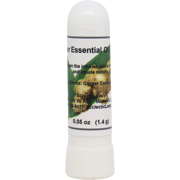 Ginger Essential Oil Aromatherapy Inhaler