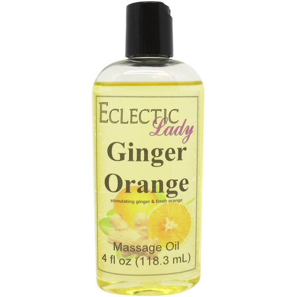Ginger Orange Massage Oil