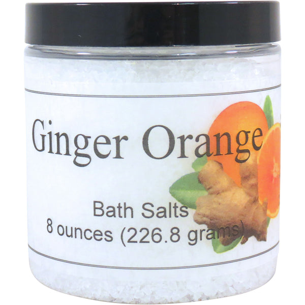 Ginger Orange Bath Salts