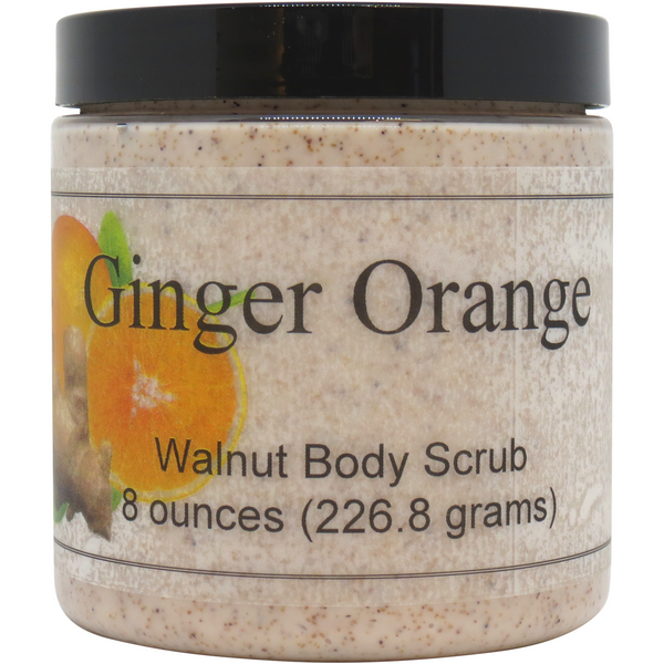 Ginger Orange Walnut Body Scrub