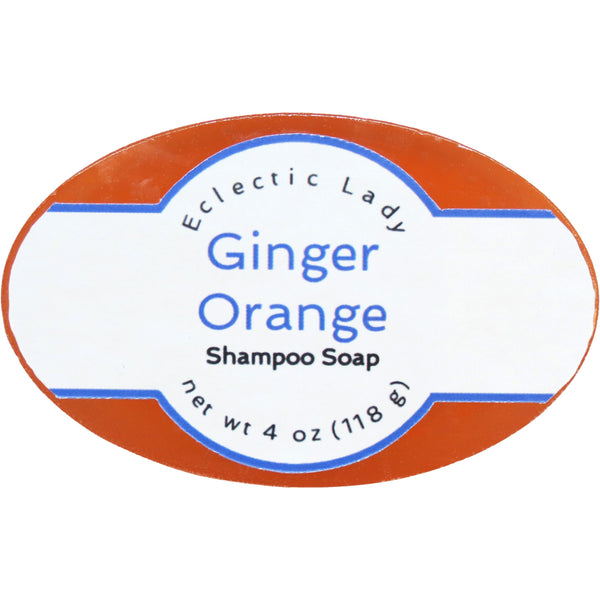 Ginger Orange Handmade Shampoo Soap