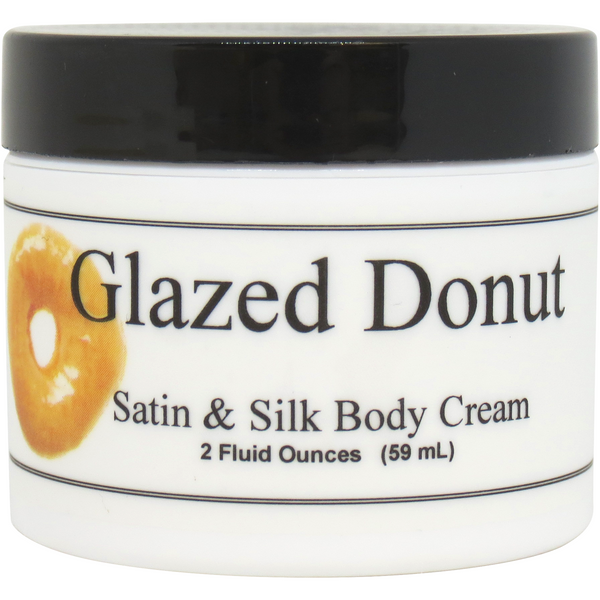 Glazed Donut Satin and Silk Cream