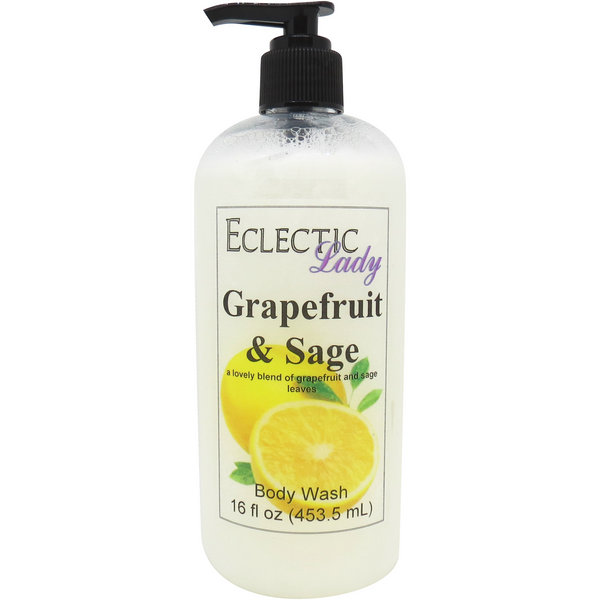 Grapefruit and Sage Body Wash