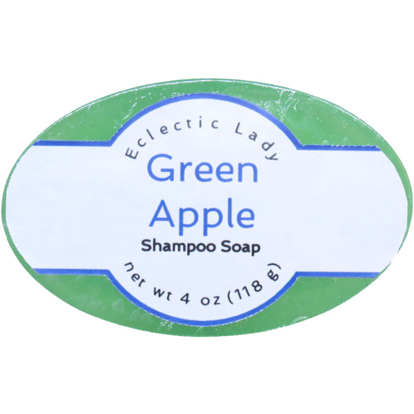 Green Apple Handmade Shampoo Soap