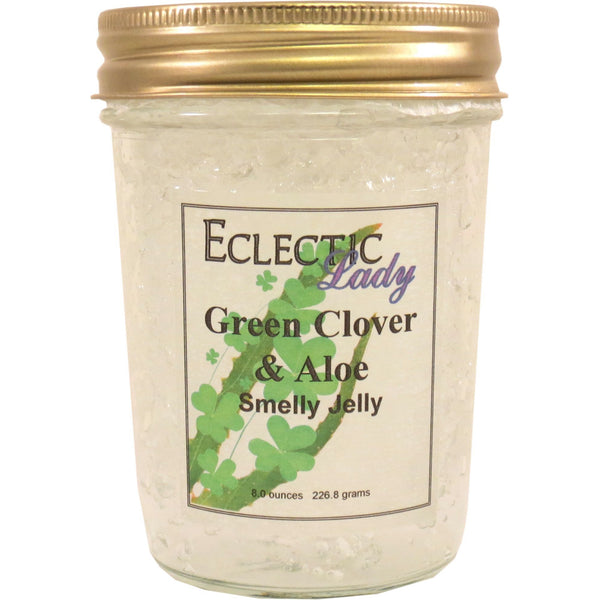 Green Clover and Aloe Smelly Jelly