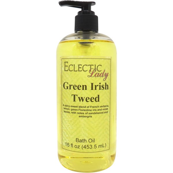 Green Irish Tweed Bath Oil