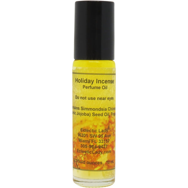 Holiday Incense Perfume Oil