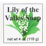 Lily of the Valley Handmade Glycerin Soap