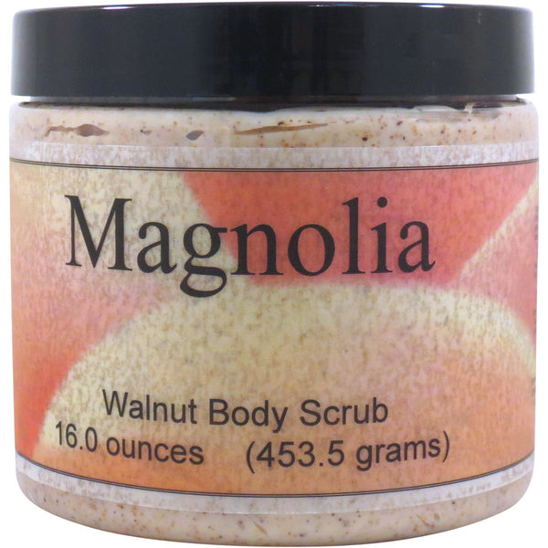 Magnolia Walnut Body Scrub
