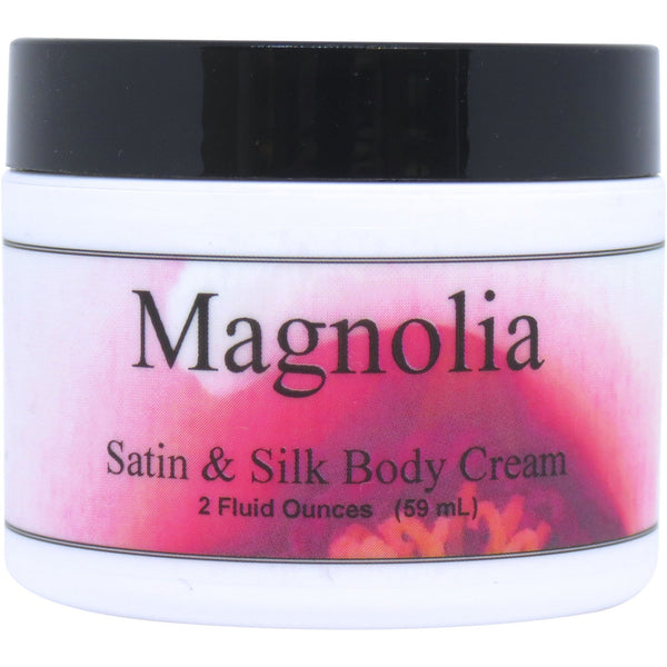 Magnolia Satin and Silk Cream