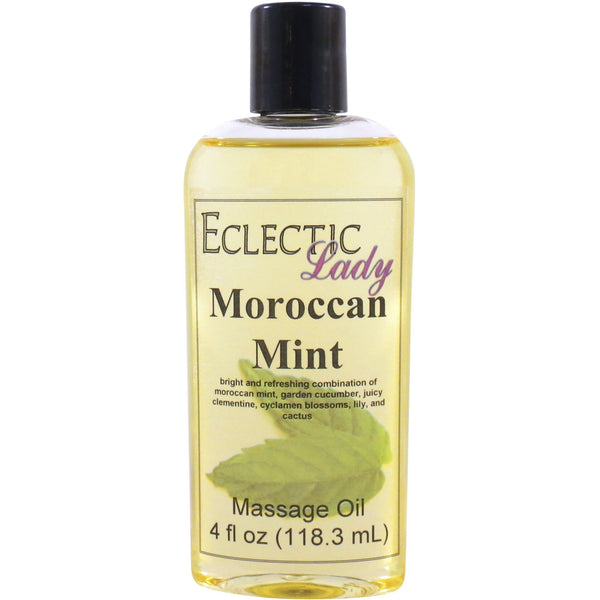 Moroccan Mint Massage Oil