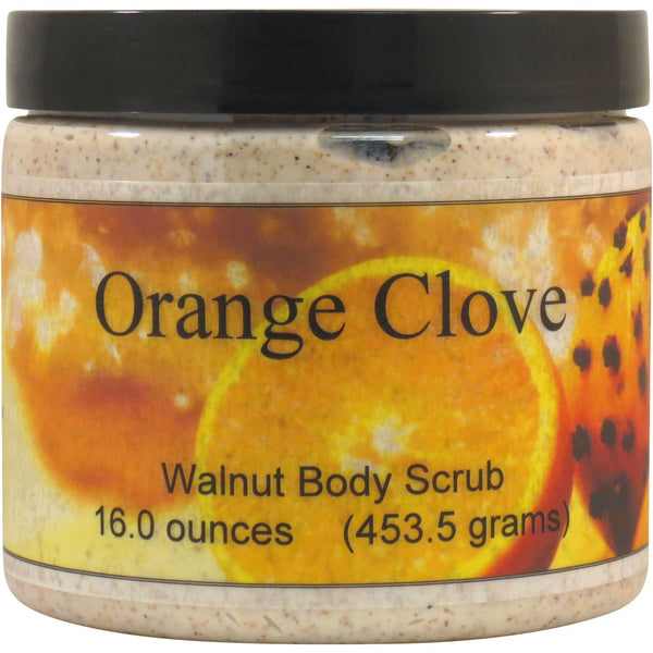 Orange Clove Walnut Body Scrub