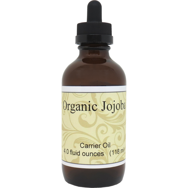 Organic Jojoba Carrier Oil, 4 oz