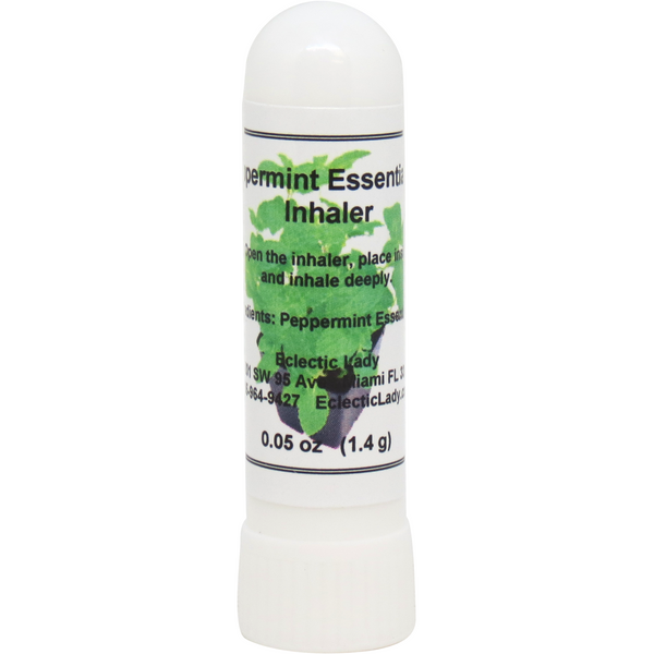 Peppermint Essential Oil Essential Oil Aromatherapy Inhaler